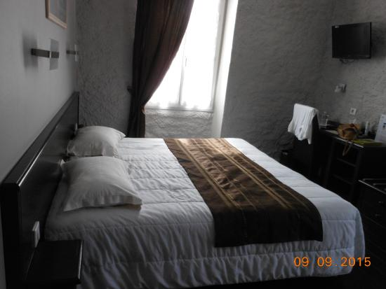 Logis Hostellerie des Ducs: chambre