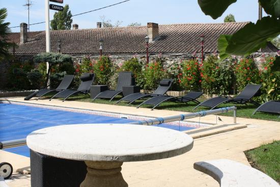 Logis Hostellerie des Ducs: piscine