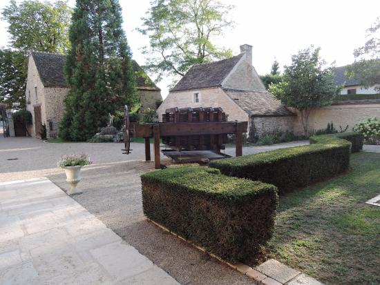 Hotel le Clos: Innenhof
