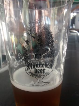 Cerveceria Manneken Beer: Vaso Feria Cerveza