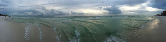 سيلفر دونز باي هوليداي آيل: 180 degree panorama