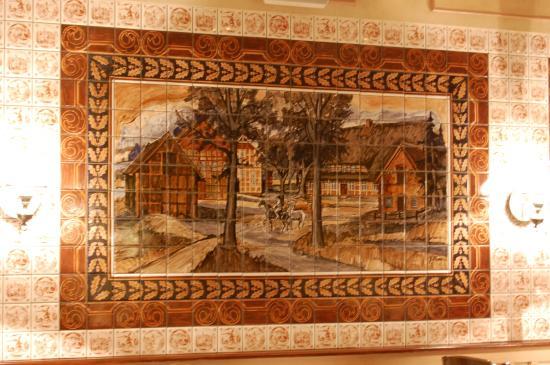 Egestorf, Germania: vackert på väggar