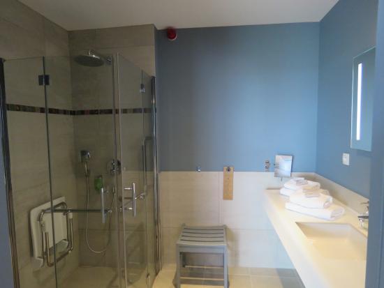 Our bathroom picture of le chateau de sable hotel porspoder tripadvisor - Le chateau de sable porspoder ...