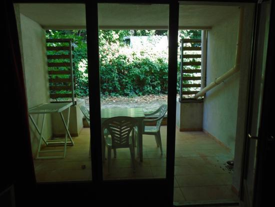 Résidence La Closerie : Terrasse