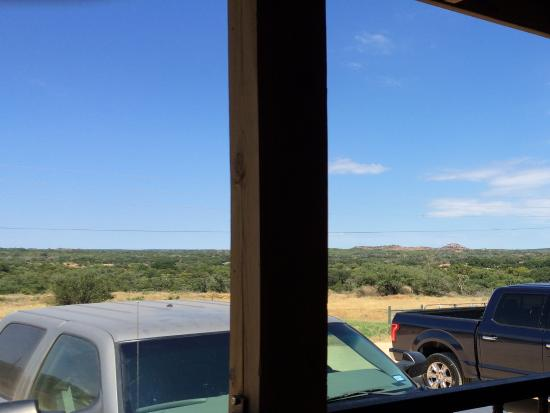 Buchanan Dam, TX: View from back porch