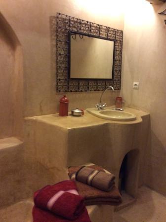 Riad Villa El Arsa : Bad