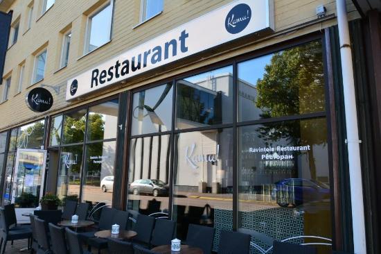 Fortress Restaurant Kamu Hamina Omd Men Om