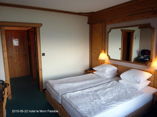 Hotel Le Mont-Paisible: la camera a Sud