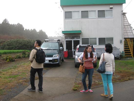 Narita Airport Hostel : ด้านหน้าโฮลเทล