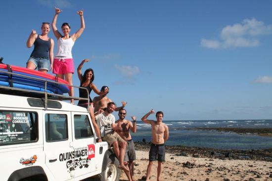 Quiksilver Surfschool Fuerteventura Private Tours & Classes: Great people