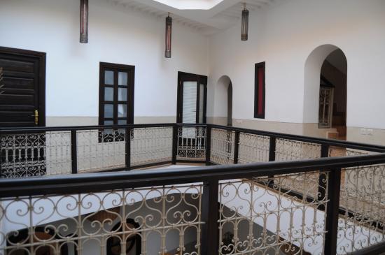 Riad Ghemza: Zonas comunes