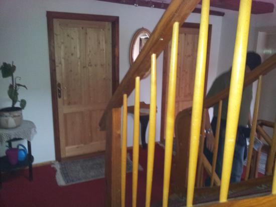 Hotel Raidel: scale del secondo piano