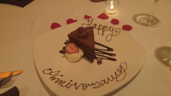 Trevi's: Anniversary Dessert