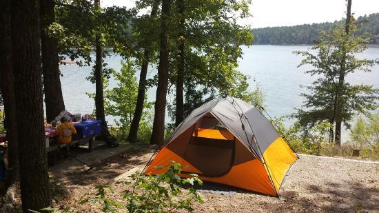 Kirby, AR: Campsite #61