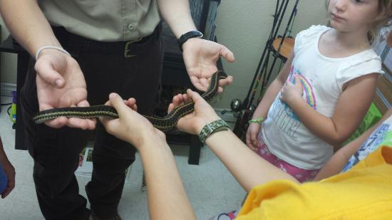 Kirby, AR: Snake Program