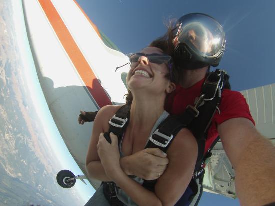 Goleen, Canadá: Yeti skydiving