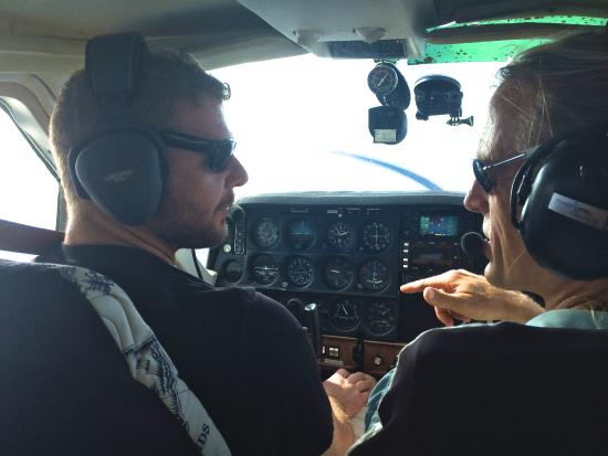 Kauai By Air: First time pilot in command.