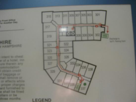 Map Picture of Hampton Inn Suites Portsmouth Downtown