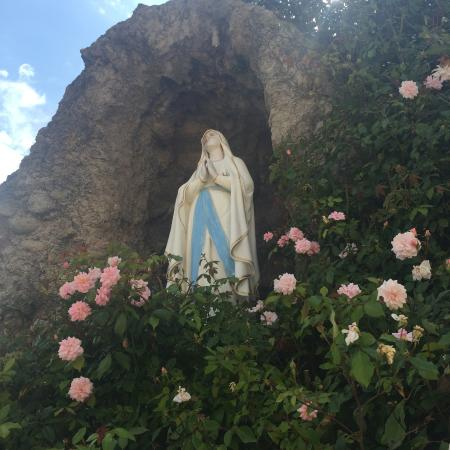San Carlos Cathedral: grotto and shrine