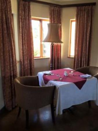 Drakensberg Region, Sydafrika: Dining room
