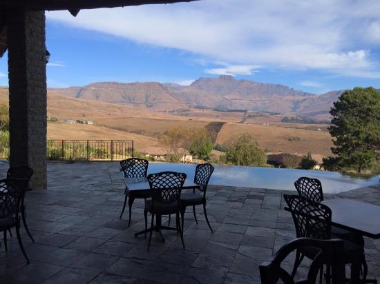 Drakensberg Region, Afrika Selatan: Morning backdrop