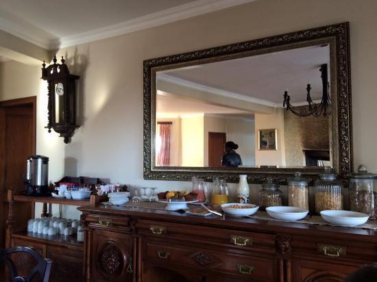 Drakensberg Region, Sydafrika: Breakfast buffet