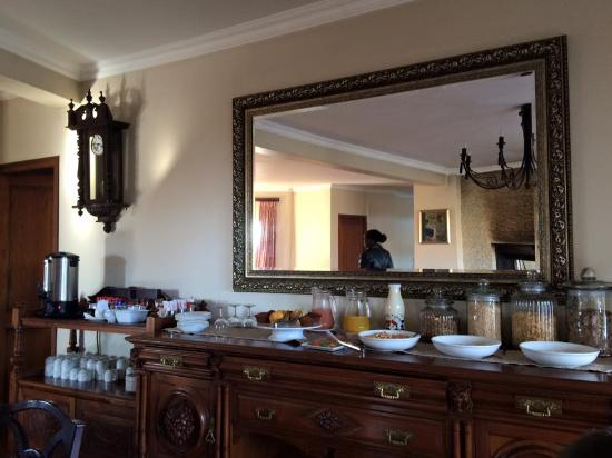 Регион Дракенсберг, Южная Африка: Breakfast buffet