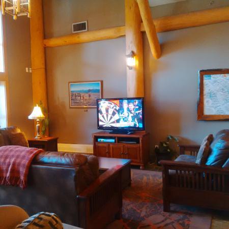 TV in main lobby