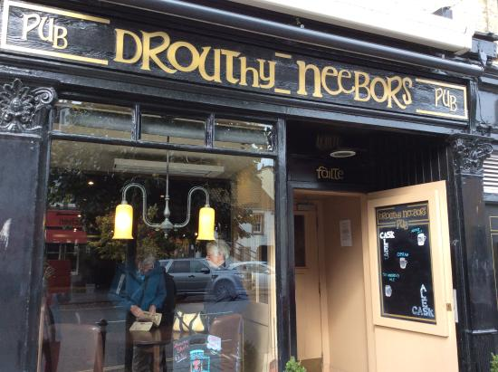 Drouthy Neebors Bar : Outside of Drouthy