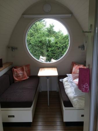Strichen, UK: Inside the Pod
