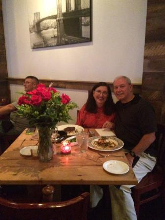 Grille620: Mary and Dave Anniversary Date