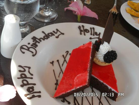 birthday cake - Picture of Jewel Runaway Bay Beach & Golf Resort ...