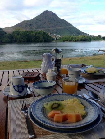 Breakfast at the River House