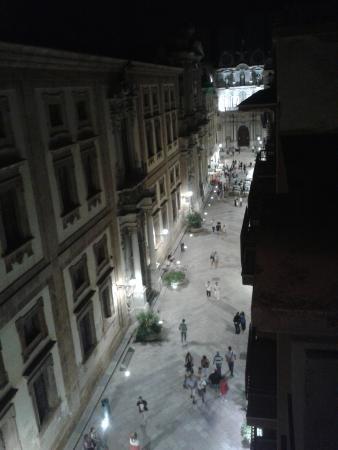 Nuovo Albergo Russo: dalla finestra