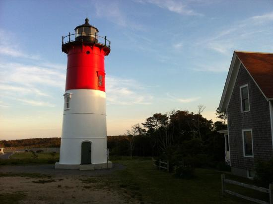 Nauset Light at Twilight