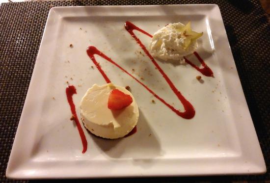 Logis Le Belvedere : dessert