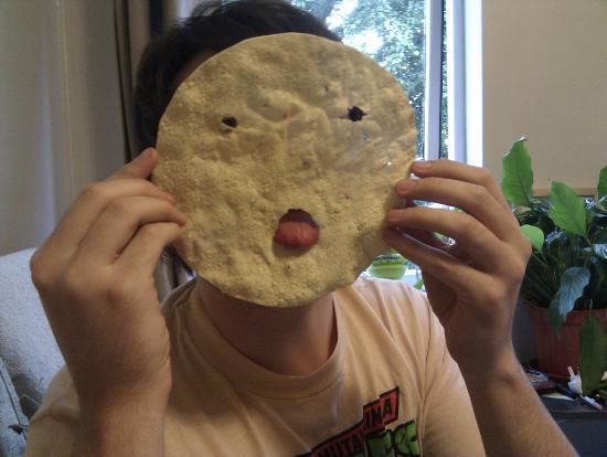 SHABAR BALTI RESTAURANT: Poppadom face