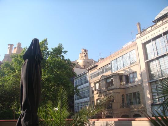 Next To: Вид с балкона.