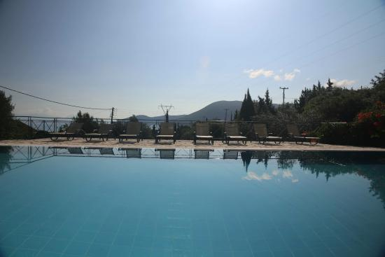 Pool at Panorama Apartments (Fiskardo)