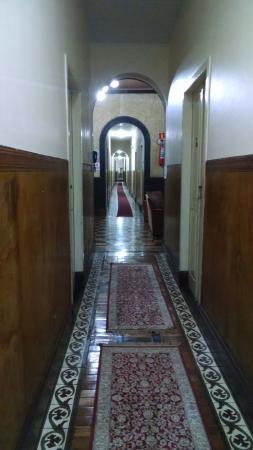 Varzea Palace Hotel: Corredor dos quartos