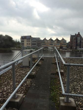 Het Rechthuis aan den Amstel: View from our room