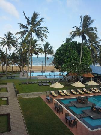 Camelot Beach Resort Vista Da Varanda Do Quarto
