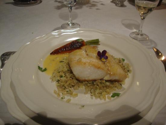 Linieres-Bouton, Francja: Cuisine tres bonne