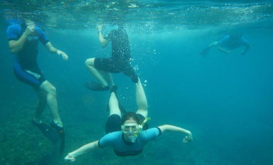 Snorkel Pinta Galapagos