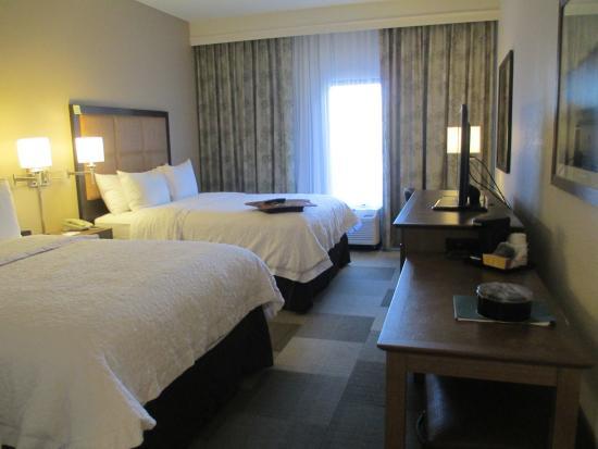 Hampton Inn & Suites Nashville-Smyrna : 2 double beds