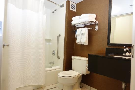 Fairfield Inn East Rutherford Meadowlands: Bathroom was very nice.