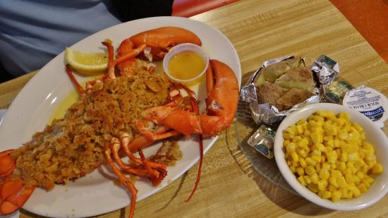 Bob's Sub & Cone: Delicious Baked Stuffed Lobster!