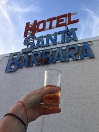 Santa Barbara : Вид из балкона