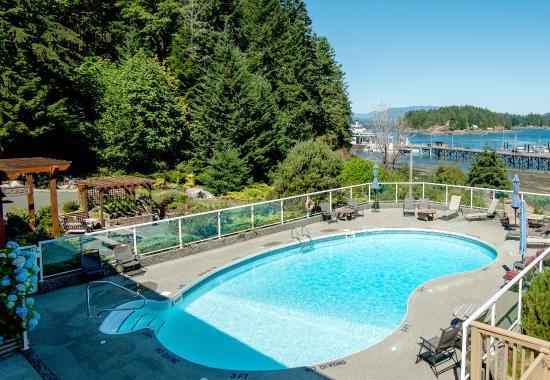 Quathiaski Cove, Καναδάς: Heated Outdoor Seasonal Pool