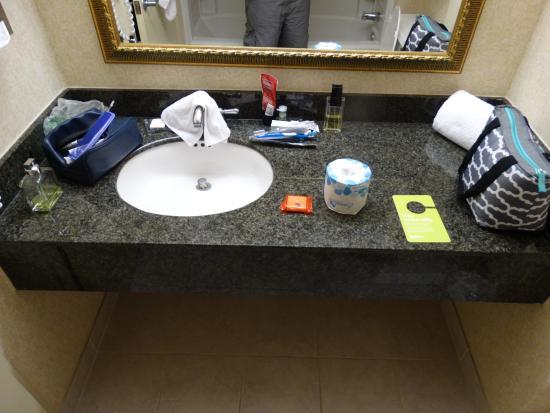 راديسون هوتل هاي بوينت: Bathroom Sink